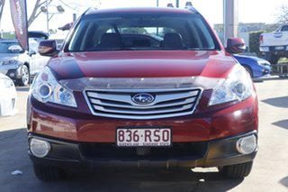 2011 Subaru Outback B5A MY11 2.5i Lineartronic AWD Premium Red 6 Speed Constant Variable Wagon.