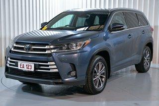 2018 Toyota Kluger GSU50R GXL 2WD Blue 8 Speed Sports Automatic Wagon.