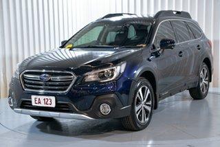 2018 Subaru Outback B6A MY18 2.5i CVT AWD Premium Blue 7 Speed Constant Variable Wagon.