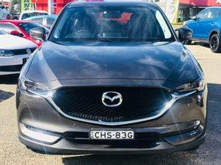 2017 Mazda CX-5 KF4WLA GT SKYACTIV-Drive i-ACTIV AWD Bronze 6 Speed Sports Automatic Wagon