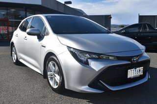 2019 Toyota Corolla ZWE211R Ascent Sport E-CVT Hybrid Billet Silver 10 Speed Constant Variable.
