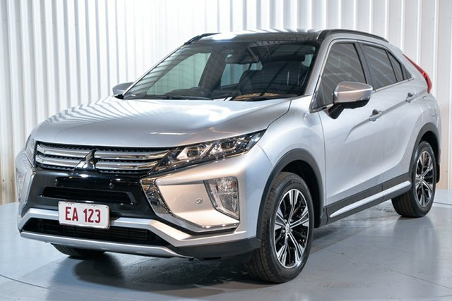 Used Mitsubishi Eclipse Cross YA MY18 Exceed AWD Hendra, 2017 Mitsubishi Eclipse Cross YA MY18 Exceed AWD Silver 8 Speed Constant Variable Wagon