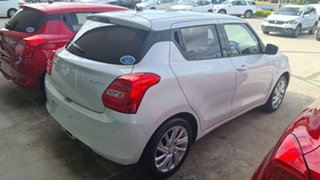 2021 Suzuki Swift SWIFT6 SWIFT GL+ NAVIGATOR (WITH SAFTEY PACK) Pure White Pearl Hatchback.