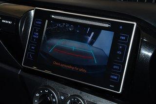 2017 Toyota Hilux GUN136R SR Double Cab 4x2 Hi-Rider White 6 Speed Sports Automatic Utility