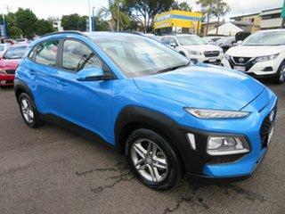 2019 Hyundai Kona OS.2 MY19 Active 2WD Blue 6 Speed Sports Automatic Wagon.