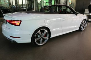 2019 Audi S3 8V MY19 S Tronic Quattro White 7 Speed Sports Automatic Dual Clutch Cabriolet