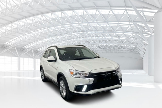 Used Mitsubishi ASX XC MY19 ES (2WD) Moorebank, 2019 Mitsubishi ASX XC MY19 ES (2WD) White Continuous Variable Wagon