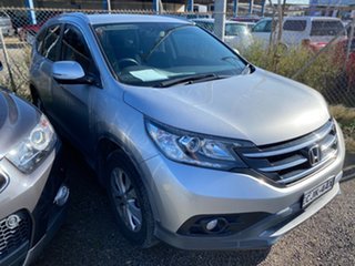 2012 Honda CR-V RE MY2011 Sport 4WD Alabaster Silver 5 Speed Automatic Wagon.