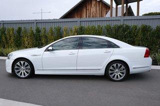 2013 Holden Caprice WN MY14 V White 6 Speed Sports Automatic Sedan