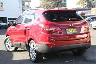 2011 Hyundai ix35 LM MY11 Highlander (AWD) Red 6 Speed Automatic Wagon.