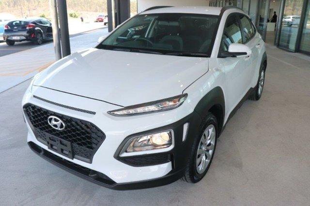 Used Hyundai Kona OS.2 MY19 Go 2WD Springwood, 2019 Hyundai Kona OS.2 MY19 Go 2WD Chalk White 6 Speed Sports Automatic Wagon