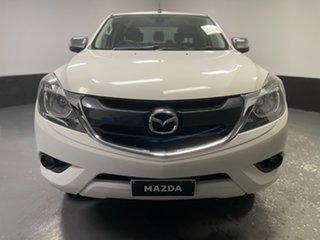 2017 Mazda BT-50 UR0YG1 GT Cool White 6 Speed Sports Automatic Utility.