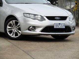 2011 Ford Falcon FG MkII XR6 Adventurine Silver 6 Speed Sports Automatic Sedan.