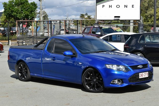 Used Ford Falcon FG MK2 XR6T Underwood, 2012 Ford Falcon FG MK2 XR6T Blue 6 Speed Auto Seq Sportshift Utility