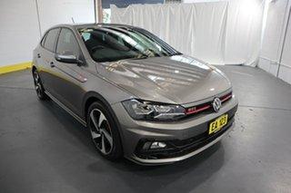 2019 Volkswagen Polo AW MY19 GTI DSG Grey 6 Speed Sports Automatic Dual Clutch Hatchback.