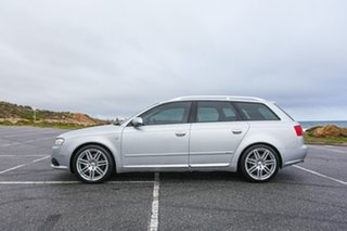 2006 Audi A4 B7 S Line Avant Multitronic Silver 7 Speed Constant Variable Wagon