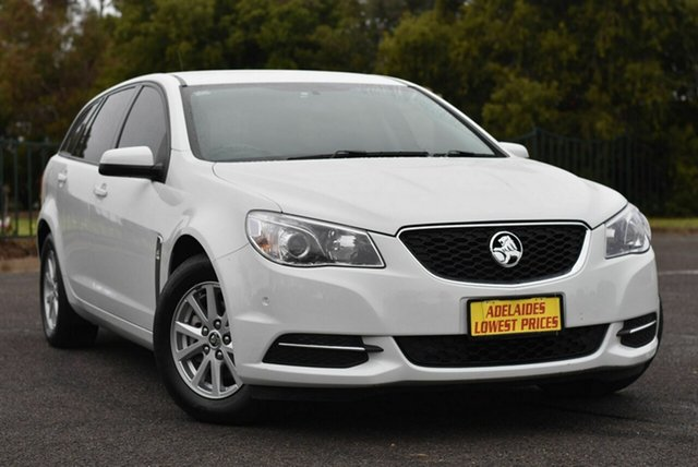 Used Holden Commodore VF II MY16 Evoke Sportwagon Enfield, 2016 Holden Commodore VF II MY16 Evoke Sportwagon White 6 Speed Sports Automatic Wagon