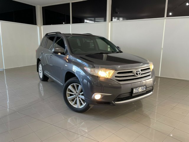 Used Toyota Kluger GSU40R MY12 Altitude 2WD Deer Park, 2013 Toyota Kluger GSU40R MY12 Altitude 2WD Grey 5 Speed Sports Automatic Wagon