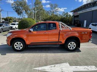 2015 Holden Colorado RG MY15 LTZ Space Cab Orange 6 Speed Sports Automatic Utility