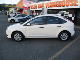 2008 Ford Focus LT CL White 4 Speed Automatic Hatchback.