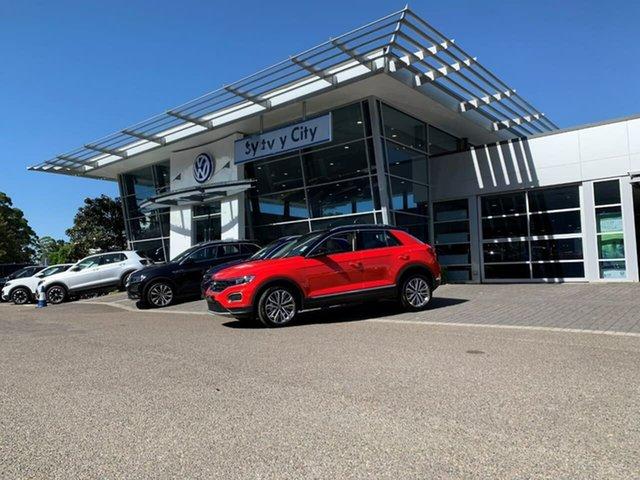 Demo Volkswagen T-ROC A1 MY21 110TSI Style Botany, 2021 Volkswagen T-ROC A1 MY21 110TSI Style Black 8 Speed Sports Automatic Wagon