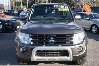 2014 Mitsubishi Pajero NW MY14 GLX-R Brown 5 Speed Sports Automatic Wagon.