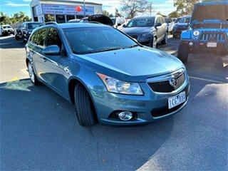 2014 Holden Cruze JH Series II MY14 CDX Sportwagon Blue 6 Speed Sports Automatic Wagon.