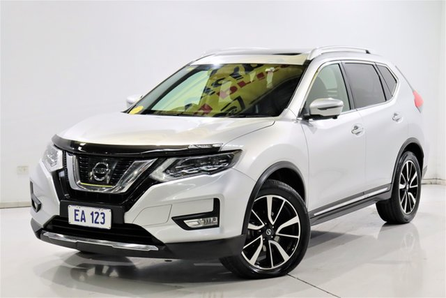 Used Nissan X-Trail T32 Series II Ti X-tronic 4WD Brooklyn, 2017 Nissan X-Trail T32 Series II Ti X-tronic 4WD Silver 7 Speed Constant Variable Wagon
