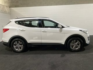 2014 Hyundai Santa Fe DM MY14 Active Creamy White 6 Speed Manual Wagon.