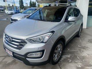 2012 Hyundai Santa Fe DM MY13 Highlander Sleek Silver 6 Speed Sports Automatic Wagon.