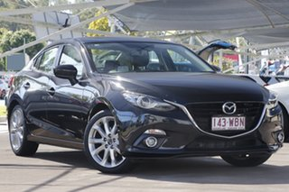 2015 Mazda 3 BM5238 SP25 SKYACTIV-Drive GT Black 6 Speed Sports Automatic Sedan.