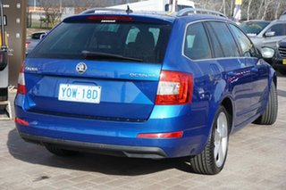 2013 Skoda Octavia NE MY14 Elegance DSG 110TDI Race Blue 6 Speed Sports Automatic Dual Clutch Wagon