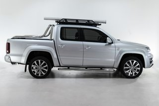 2018 Volkswagen Amarok 2H MY18 TDI580 4MOTION Perm Ultimate Silver 8 Speed Automatic Utility