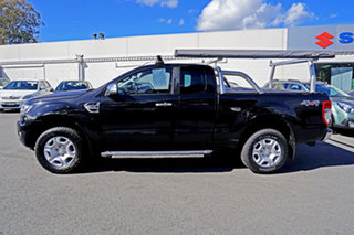 2017 Ford Ranger PX MkII XLT Super Cab Jet Black 6 Speed Sports Automatic Utility