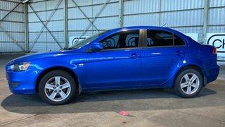 2008 Mitsubishi Lancer CJ MY08 ES Blue 5 Speed Manual Sedan.