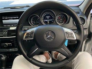 2012 Mercedes-Benz C-Class W204 C200 BlueEFFICIENCY Iridium Silver Sports Automatic Sedan