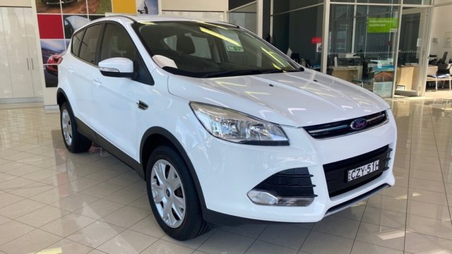 Used Ford Kuga TF MY15 Ambiente 2WD Cardiff, 2015 Ford Kuga TF MY15 Ambiente 2WD White 6 Speed Manual Wagon