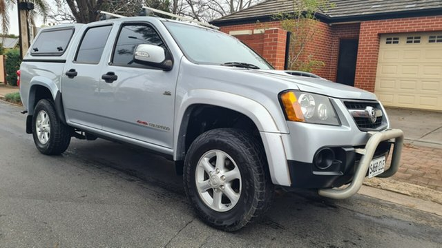 Used Holden Colorado RC MY11 LX-R (4x4) Prospect, 2011 Holden Colorado RC MY11 LX-R (4x4) Blue 5 Speed Manual Crew Cab Pickup