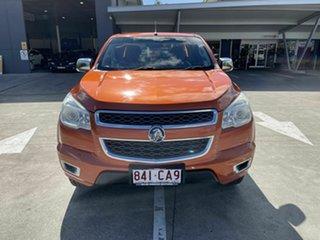 2015 Holden Colorado RG MY15 LTZ Space Cab Orange 6 Speed Sports Automatic Utility.