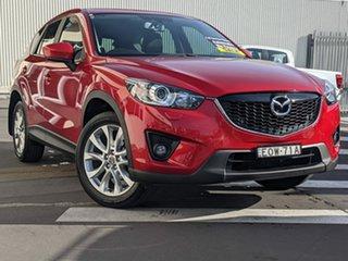 2014 Mazda CX-5 KE1031 MY14 Grand Touring SKYACTIV-Drive AWD Soul Red 6 Speed Sports Automatic Wagon.