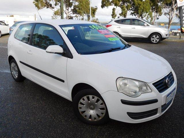 Used Volkswagen Polo 9N MY2008 Club Wangara, 2008 Volkswagen Polo 9N MY2008 Club White 5 Speed Manual Hatchback
