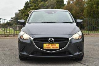 2017 Mazda 2 DJ2HAA Neo SKYACTIV-Drive Grey 6 Speed Sports Automatic Hatchback.