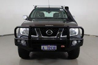 2009 Nissan Navara D40 ST-X (4x4) Grey 6 Speed Manual Dual Cab Pick-up.