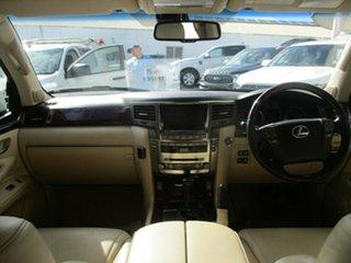 2008 Lexus LX570 URJ201R Sports Luxury White 6 Speed Automatic Wagon