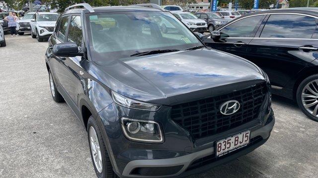 Demo Hyundai Venue QX.V3 MY21 Moorooka, 2021 Hyundai Venue QX.V3 MY21 Cosmic Grey 6 Speed Automatic Wagon