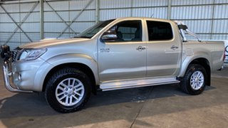 2012 Toyota Hilux KUN26R MY12 SR5 Double Cab Gold 4 Speed Automatic Utility.