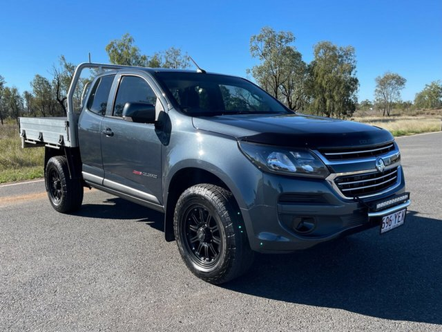 Used Holden Colorado RG MY18 LS Emerald, 2018 Holden Colorado RG MY18 LS Grey 6 Speed Sports Automatic Cab Chassis
