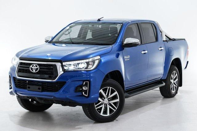 Used Toyota Hilux GUN126R SR5 Double Cab Berwick, 2019 Toyota Hilux GUN126R SR5 Double Cab Blue 6 Speed Sports Automatic Utility