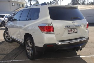 2011 Toyota Kluger GSU40R MY11 KX-S 2WD White 5 Speed Sports Automatic Wagon.