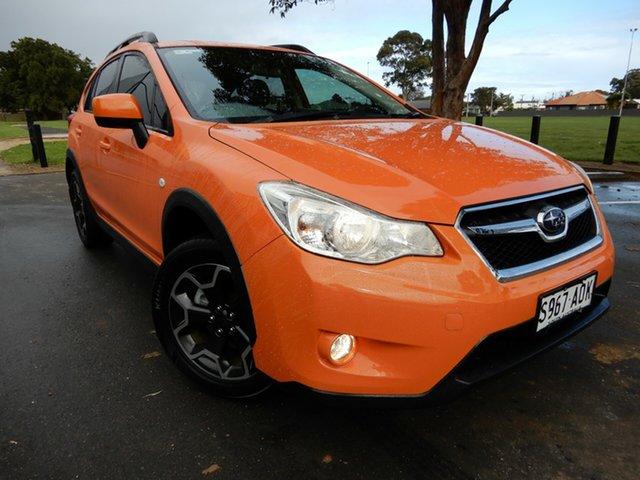 Used Subaru XV G4X MY12 2.0i-L AWD Glenelg, 2012 Subaru XV G4X MY12 2.0i-L AWD Tangerine Orange 6 Speed Manual Wagon